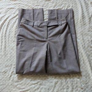 Ann Taylor plaid trousers size 6